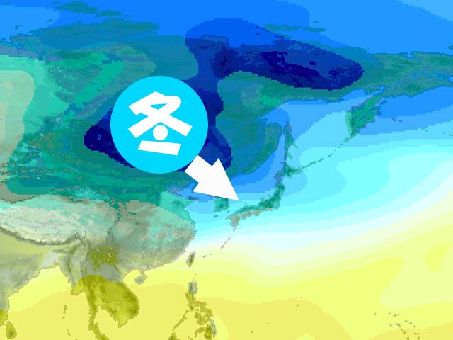 上空の気温の様子。今週の寒波はデカくて強い。冬将軍は本気モード。