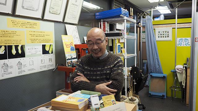 店主の平実(たいらみのる)さん。浅草出身の江戸っ子だ。改めてお話を聞かせてもらった。