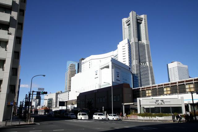 横浜市中心部にほど近いロケーションである
