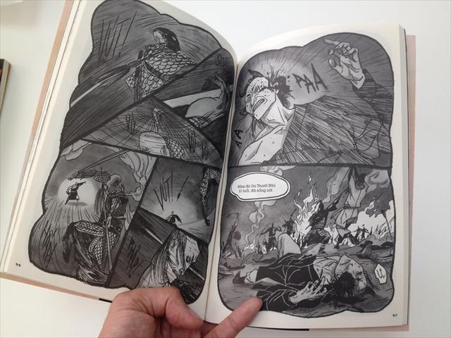 画風は、筆に勢いのある松本大洋という印象。感情や緊張が伝わってくる。というかコレ、漫画としてものすごく卓越していないか。群を抜いていないか。