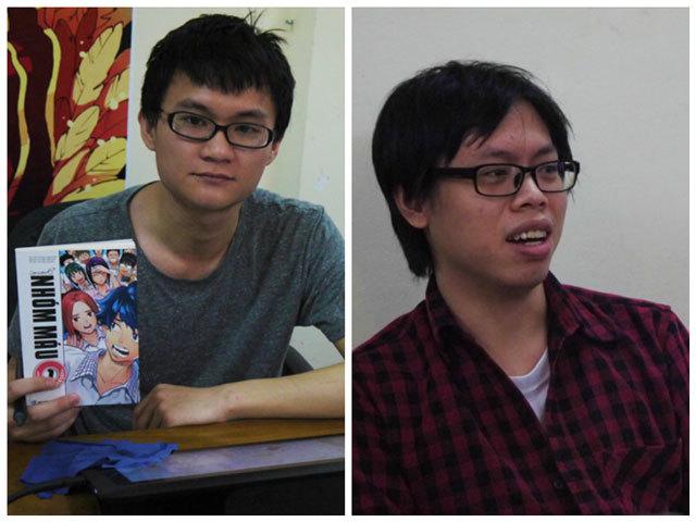 改めてご紹介。左は「血液型O」のドゥックさん、右は「PROJECT ICON」のハザードさん。