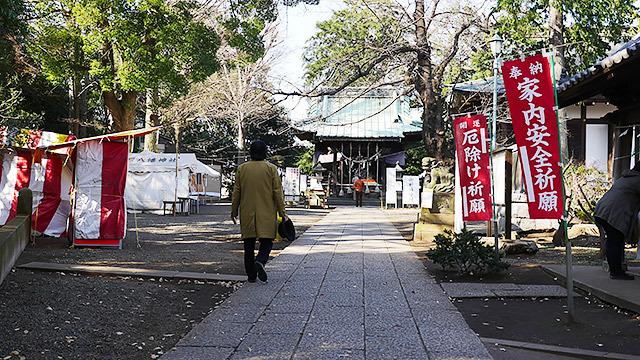篠原神社に来ました