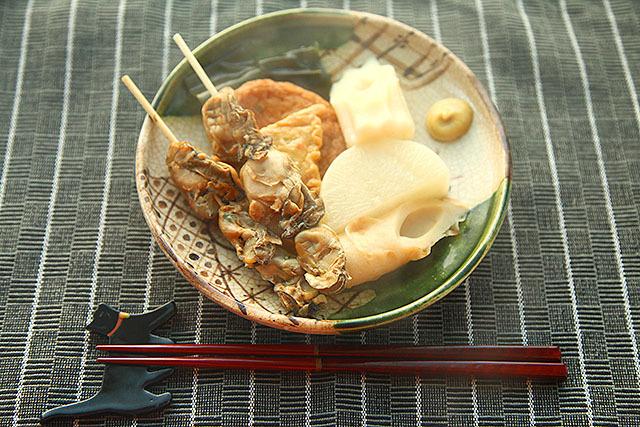 干し牡蠣のおでんって初めて食べた。