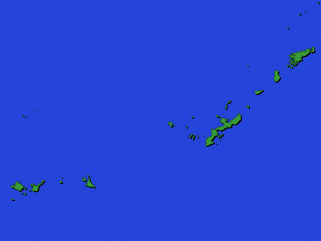 島を取り囲む海が、予報を難しくしている。