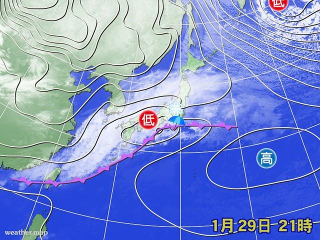 先週の金曜は、関東で雪と雨がせめぎあった。また今週も…。