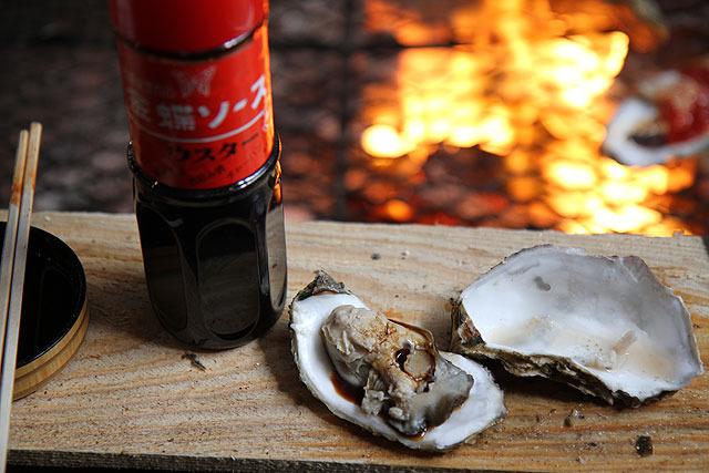 皿うどんに合うソースが牡蠣にも合う!