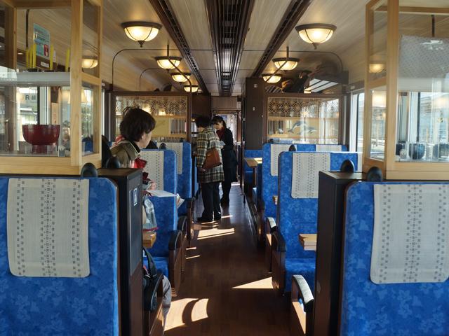 予約云々に必死だったため、ここまでの列車だとは乗って初めて知りました。