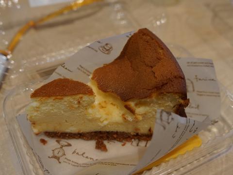 何気なく買ったチーズケーキがとても美味しいことに気付いた。