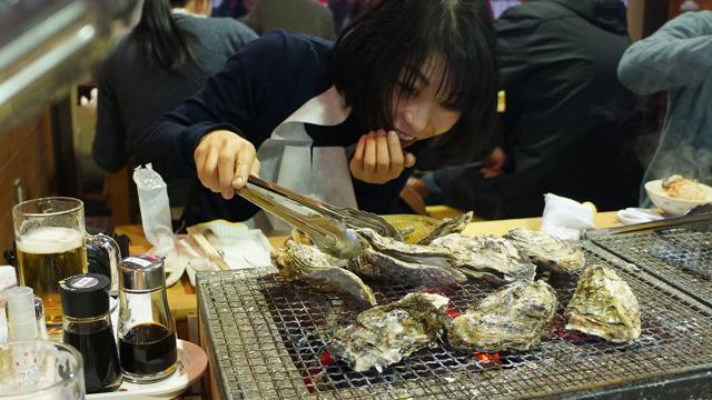 貝が口を開けてきただけでなぜ人はこんなに笑顔になるのか。