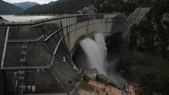 1963年からの長期政権を敷く黒部ダム
