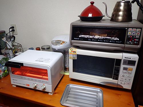 伊藤さんがトースターを持ってきてくれたので2台体制だぜ。