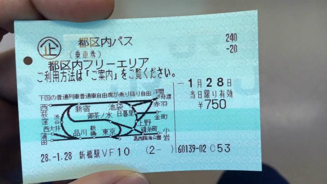 都区内パスは本当に東京都内でしか使えない、あと、上下をぐにゃっと潰した感じの路線図も気になる
