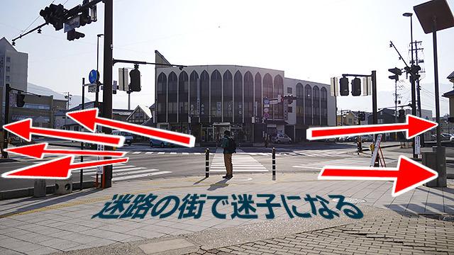 街が迷路の須坂市を歩きます!