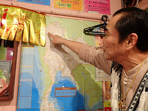 江古田店はタイ北部のチェンライ料理で、練馬店は東北部のイサーン料理。