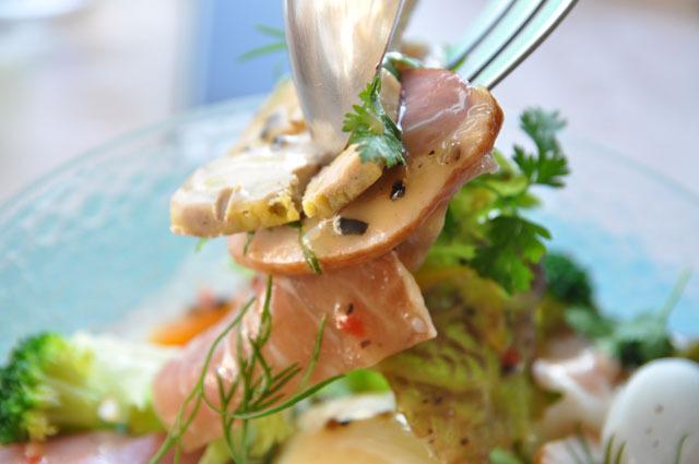 フォアグラ、鴨ロースト、生ハム……驚きの食べ応え