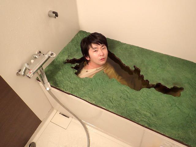 これが琵琶湖風呂か~