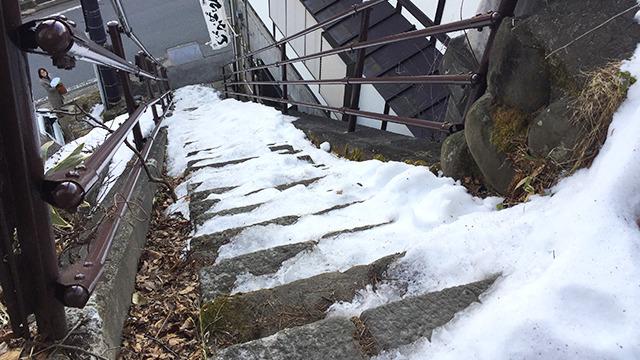 階段ってホラーですよ。
