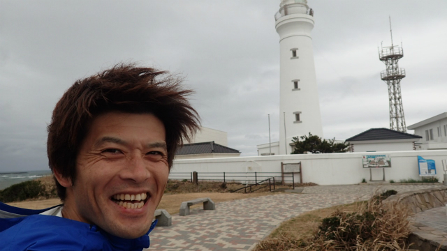 同行の安藤さんもいい笑顔