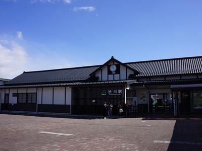 オシャレ駅。
