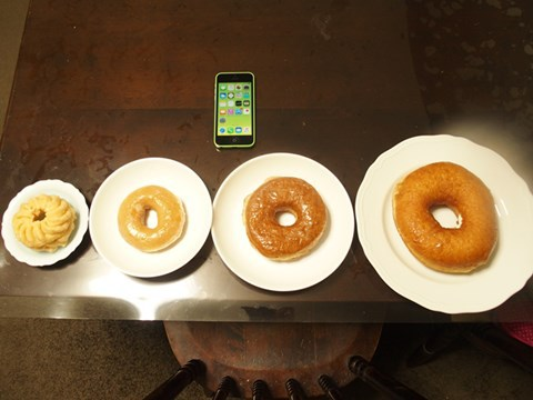 ドーナツの進化。