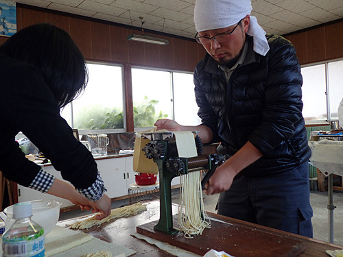 ボトムズ好きの竜弥さんにメカニカルな家庭用製麺機は響いただろうか。