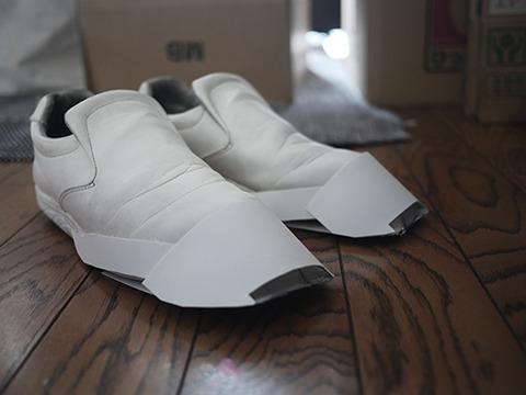 なぜかパリコレに出てきそうな靴になった