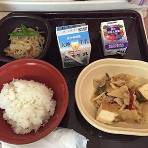 6日目の夕食