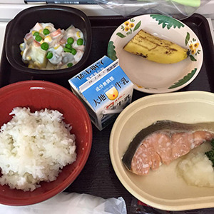 7日目の夕食