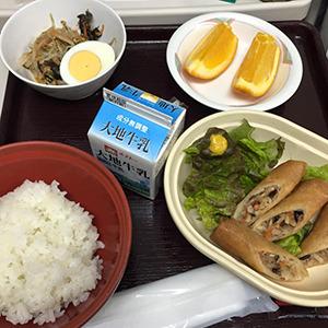 10日目の夕食