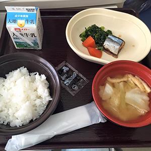 11日目の朝食