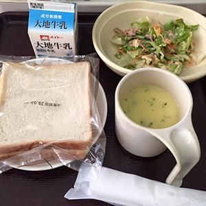 12日目の朝食