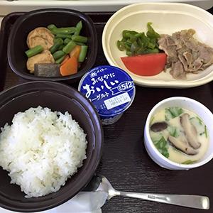 12日目の昼食