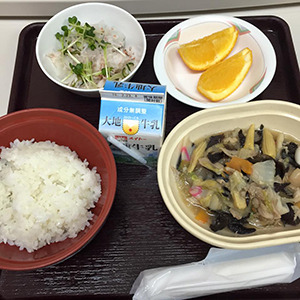 13日目の夕食
