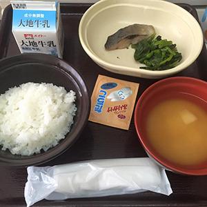 14日目の朝食