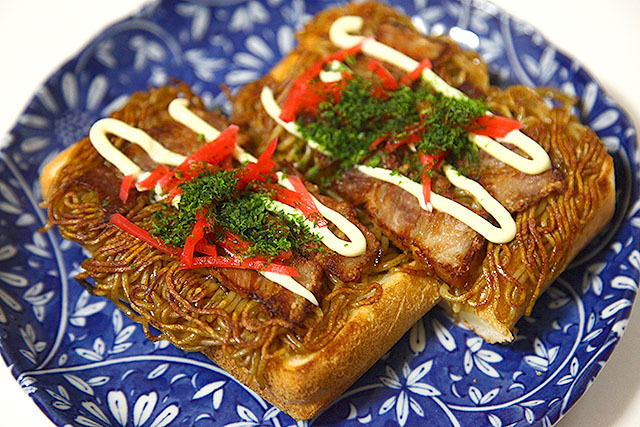 This is New Yakisoba Bread.
