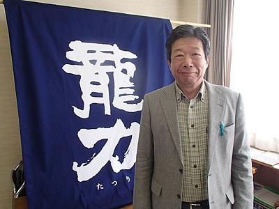 本田社長。いつも笑顔の気さくな方です。