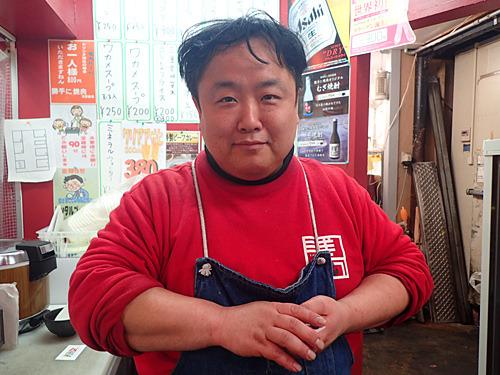 店長の佐々木さん。楽しませていただきます!