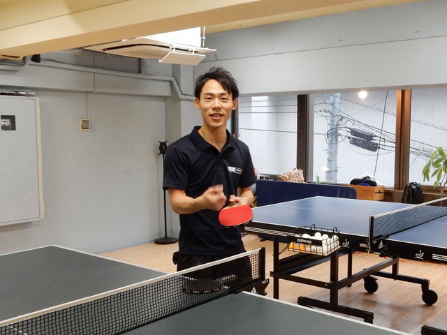 全日本社会人ベスト8、川口陽陽トレーナーである。