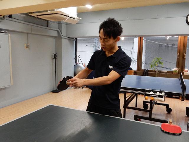 なんとこの後実技も交えて、卓球のすごさを体感させてもらった。