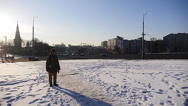 モスクワにやってきました!(やっぱり雪景色でした!)