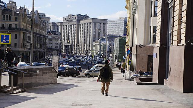 とりあえずルビャンスカヤ広場に向かいます!