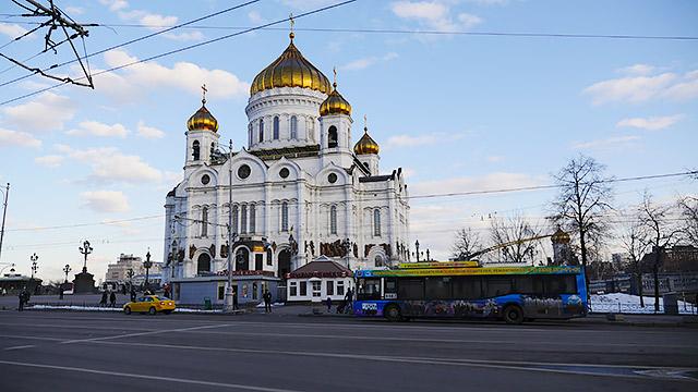 現在の「モスクワ水泳場」
