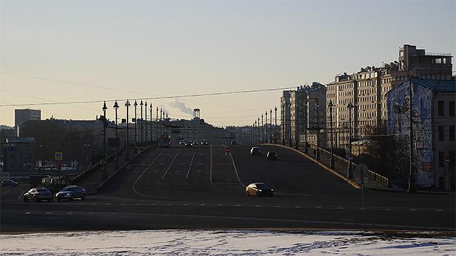 現在の「ボリショイ・カーメンヌイ橋」