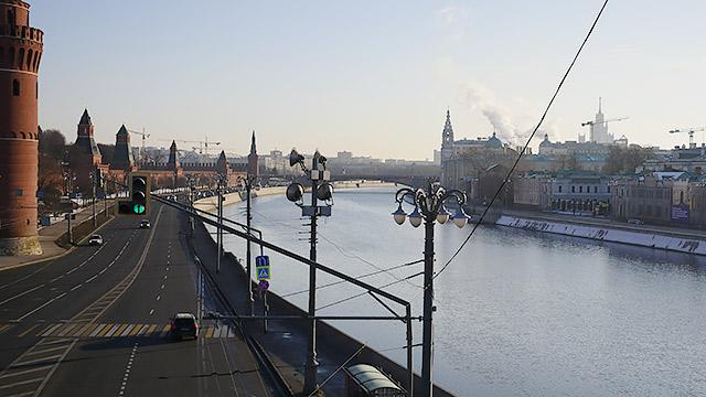 現在の「モスクワ川」