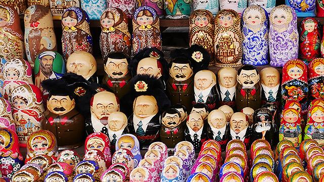 蚤の市は基本ソ連臭(プーチンもいるけど)