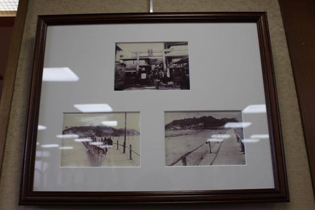 お菓子の缶に入っていたという江の島の古い写真