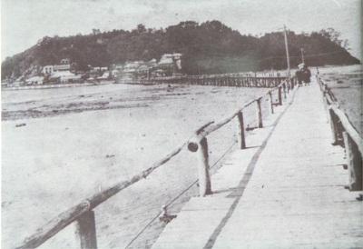 昭和初期の江の島