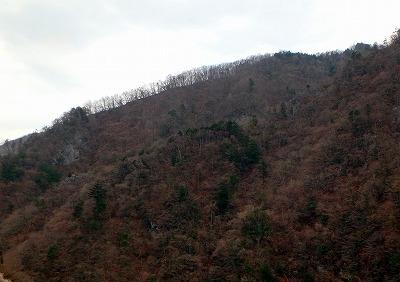 季節は3月中頃。かなり暖かくはなってきているが、まだ山の景色は冬が優勢か。