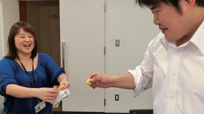 終了後、お腹いっぱいなのに差し出されたパイの実に手を出してもらってしまった。食い意地が出た。