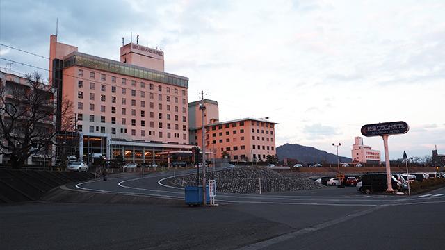 次に目指したのはホテル。